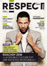 Respect Magazine #42 : Roschdy Zem
