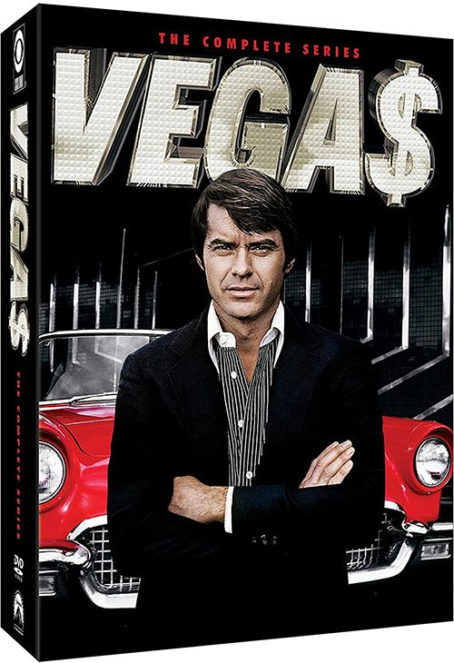 Dan Tanna is a private investigator in the gambling town of Las Vegas, Nevada. Las Vegas can be seedy or glamorous, depending upon the point of view. This show is also notable for perhaps the only known portrayal of a house with a drive-in living room.  • 1978–1981 • Format: 18 Disc DVD Box Set • Language: English • Studio: Paramount Vegas: The Complete Series Release date: May 2, 2017