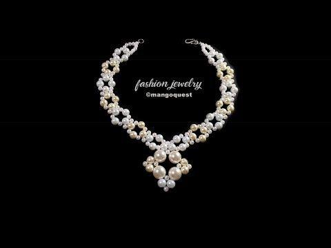 008c84aca6899 10) Pearl Necklace Tutorial Fashion Jewelry DIY - YouTube ...