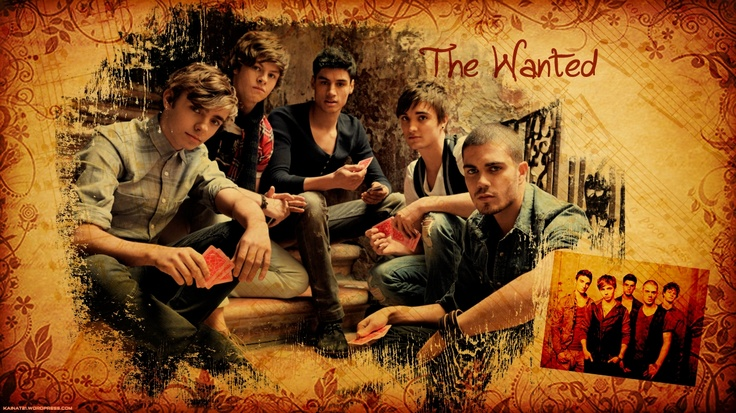 The Wanted (E) Poster.  IDR 10,000 31x47cm (A3)