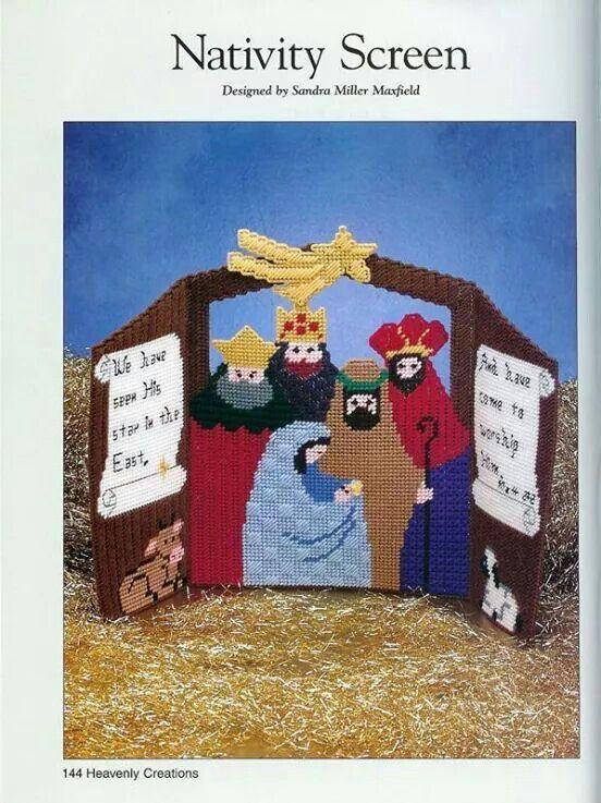 Nativity screen
