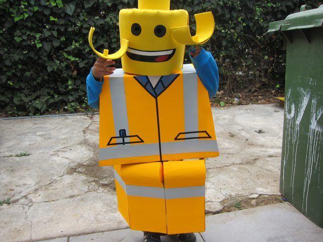 A giant yet tiny LEGO.