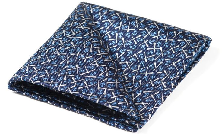 WALTER Woven Silk Pocket Square   #menswear #pocketsquare #pocketsquares #silksquare #silkhandkerchief #handkerchief #menshandkerchief #silkhank #hanks #hankies #hanky #wedding #style #mens #fashion #accessories #dapper #dandy #finishingtouch #finishing #touches #sartorial #welldressed #chap #distinguishedgentleman #gentleman #sailor #anchor #oar #boat #ship #sailing #nautical #pirate