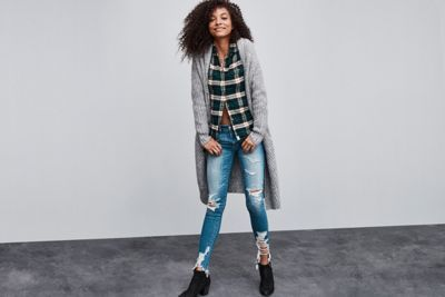 AEO Ahh-mazingly Soft Flannel Shirt Jacket by  American Eagle Outfitters   This is way soft. Like, ahh-mazingly soft. So soft you'll never take it off. Shop the AEO Ahh-mazingly Soft Flannel Shirt Jacket and check out more at AE.com.