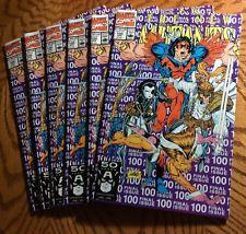 Lot Of Six The New Mutants #100 1st app. X-Force 1st Print.