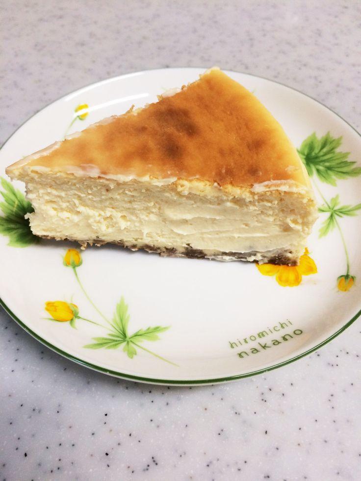 リッチな気分になれる濃厚チーズケーキ