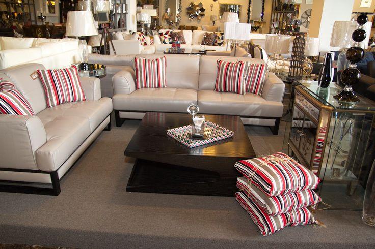 Juego de sala con sof s de 2 y 3 plazas cojines - Cojines decorativos para sofas ...