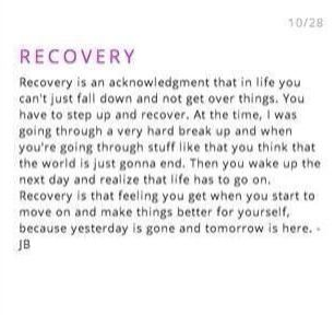 Recovery - Description