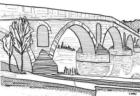 dibujos puente de puente la reina colorear - Buscar con Google