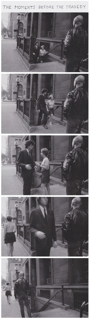 Duane Michals, The moment before the tragedy