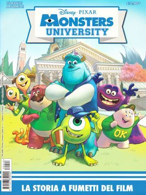 MONSTERS UNIVERSITY Graphic Novel