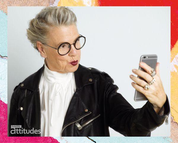 Lunettes Attitudes Magazine Automne-Hiver 2016-2017  par @agence100   Premier consumer magazine des Opticiens Indépendants de France !  #senior #fashion #glasses #lunettes #selfie #perfecto