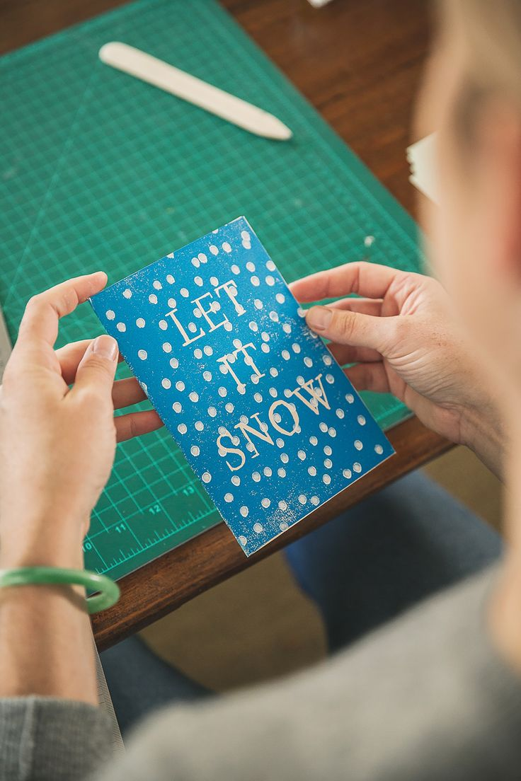 Seasons Greetings: How To Make Your Own Custom Greeting Card — Apartment Therapy Tutorials