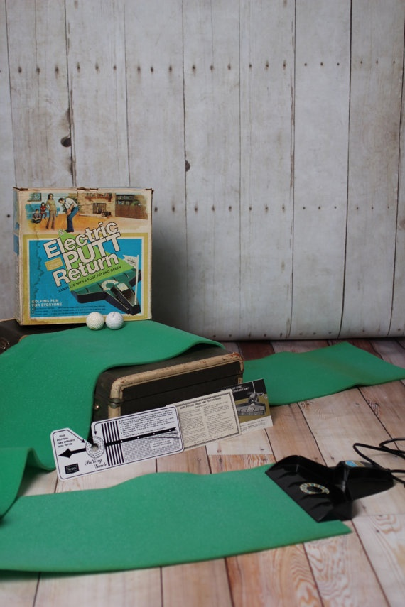 Vintage Sears Electric Putt Return with putting by VintageVanShop, $10.00    Memorial Day Sale on all items today only. Receive 15% off your order when you use the coupon code: hppymmraldy at checkout.