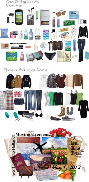 packing guide for overseas travel