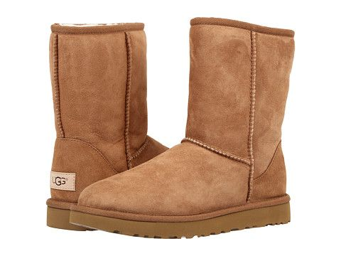 UGG Classic Short II, in Chestnut or Gray color, size 10. Mine are sooooo old.