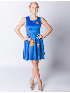 Kleid Krümelchen | Deiters | Damen | Kostüm | Karneval | Fasching | Outfit | Mottoparty | Halloween