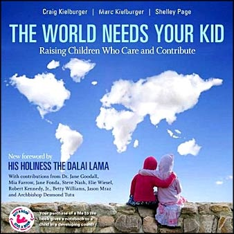 """Amazing book for parents and educators! """"The world needs your kid: Raising children who care and contribute."""" ...Inside this guide to parenting is a profoud philosophy that encourages children to become global citizens. Drawing on life lessons and success stories Marc and Craig Kielburger demonstrate how small actions make a difference in the life of a child and ultimately change the world. Here is a youtube video of Craig Kielburger discussing it…"""
