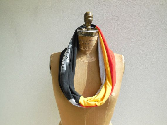 Pittsburgh Steelers T-Shirt Scarf Womens Scarves Recycled by ohzie