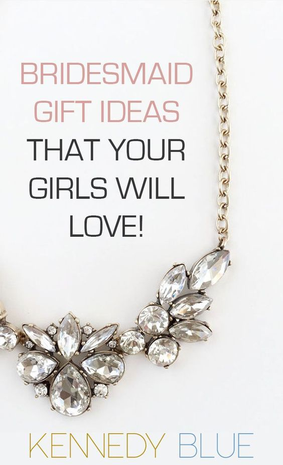 Wedding Gift Jewelry Suggestions : gift ideas your girls will love party wedding wedding gifts wedding ...