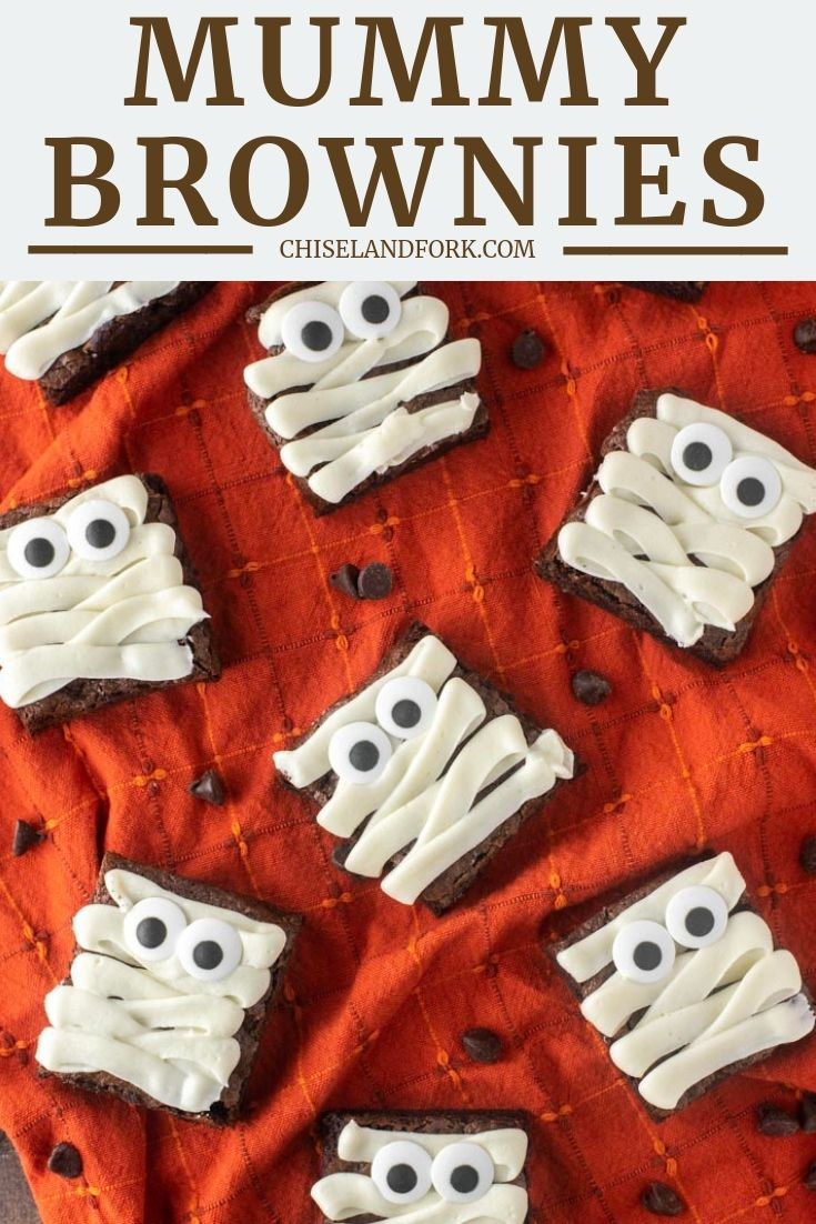 Mummy Brownies Recipe Brownie Recipes Homemade Chocolate