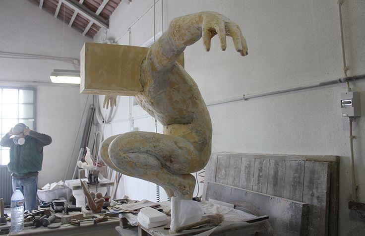 Escultura de Rogério Timóteo | Abismo