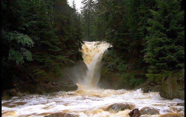 Wodospad Szklarka