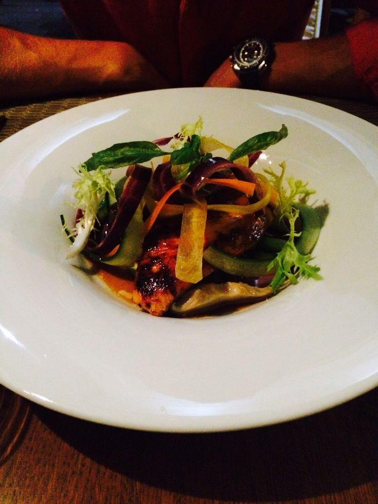 Thai somon #salad# joseph #bucharest