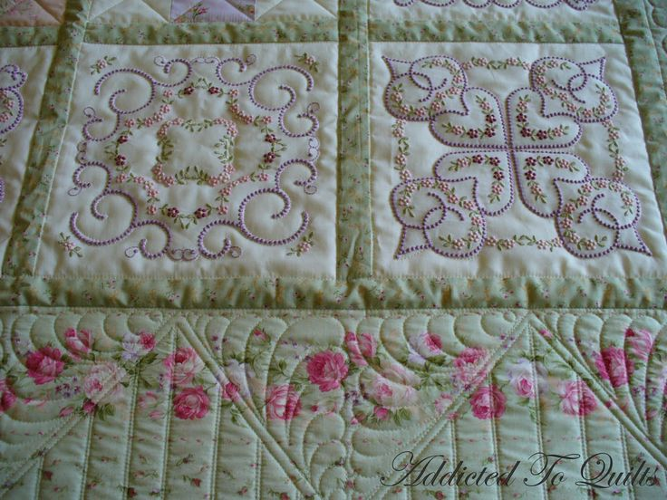 Best images about embroidered quilts on pinterest