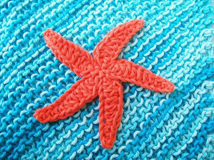 Amigurumi Starfish Pattern : Meer dan 1000 idee?n over Gehaakte Zeester op Pinterest ...