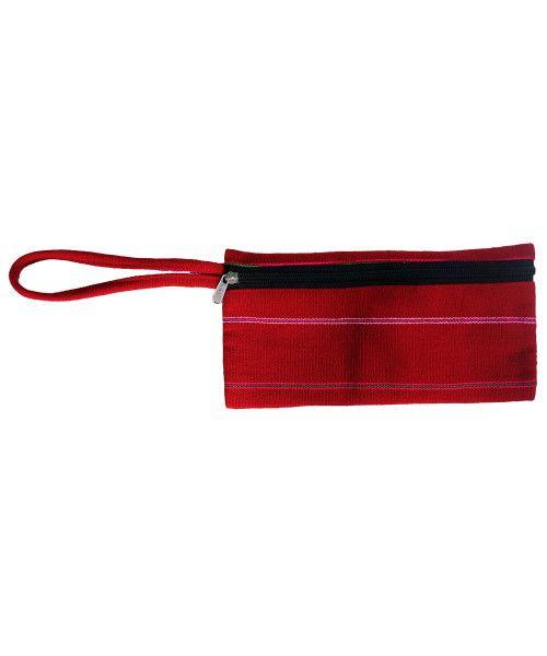 Zipper purse with the Motif of Zeliang Naga tribe