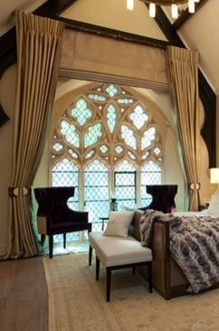 Living in a medieval home might be worth is just for the windows.