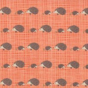 Bluebird Park - Hedgehogs from Warp & Weft   Exquisite Textiles