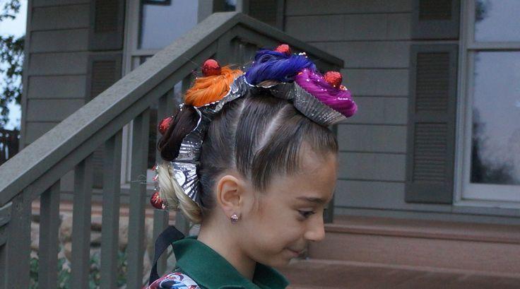 Crazy Hair Day Cupcake Mohawk Kids Pinterest Crazy