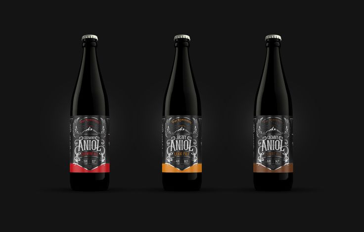 Kamienica - a Polish restaurant brewery, asked us to design the labels for a series of their beer named Anioł (Angel). They wanted a classical design, somehow reminiscent of whiskey label design, but slightly more modern. They also wanted to emphasise the…