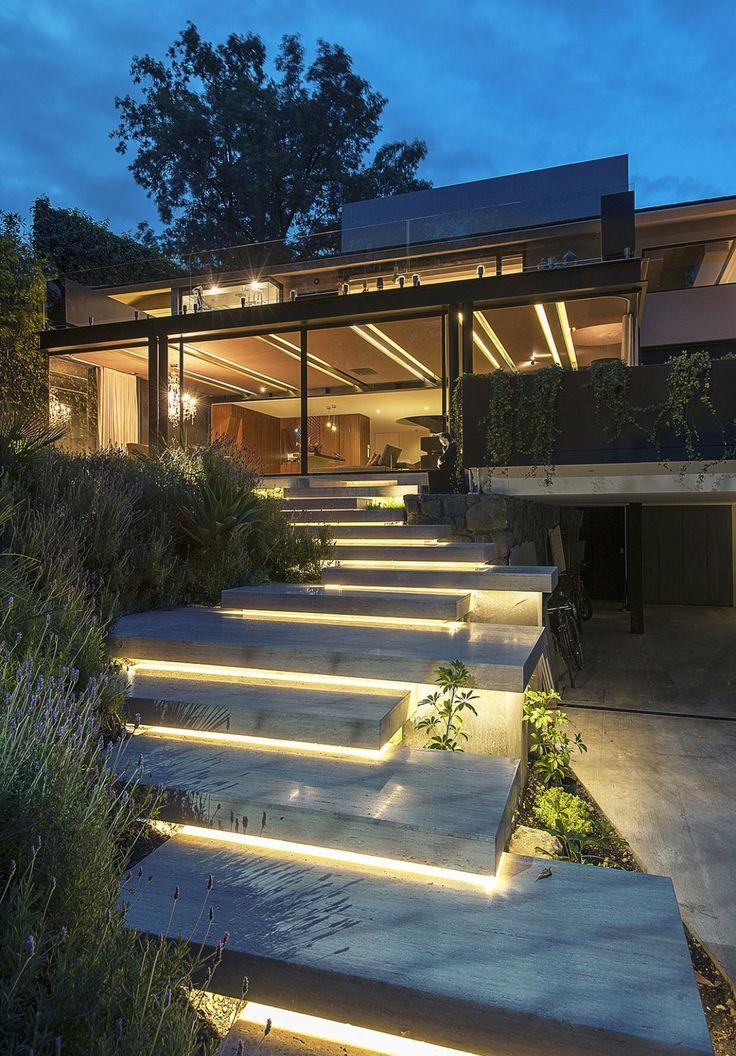 Lighting Is Often Overlooked In Design. Look What #lighting Does In  #landscape #