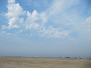 The beach at Egmond aan Zee The Words in My Hand