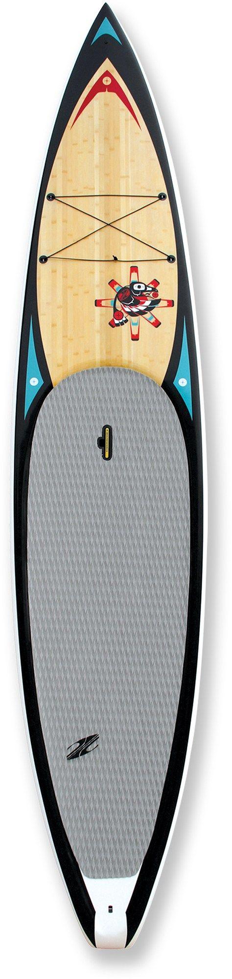 Deppen custom wood canoe paddles - Boardworks Raven Stand Up Paddle Board 11