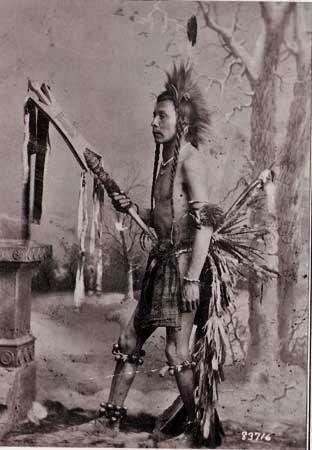 Northern Cheyenne dancer - circa 1890