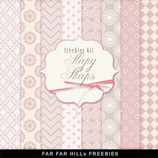 Far Far Hill - Free database of digital illustrations and papers: New Freebies…