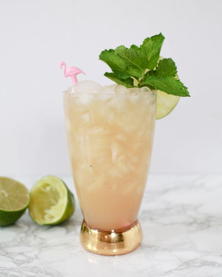 Monday Happy Hour: A Tiki Banana-Lime Smash