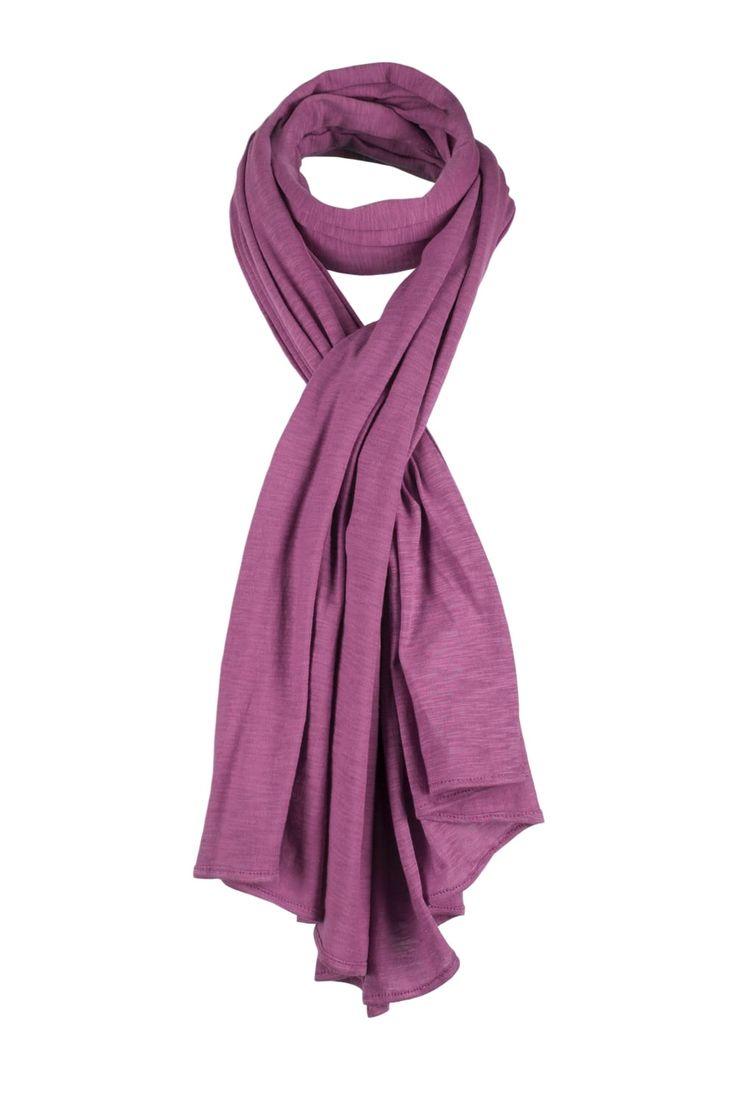 Cotton Jersey Scarf  http://www.mistral-online.com/accessories-c10/cotton-jersey-scarf-damson-p23242