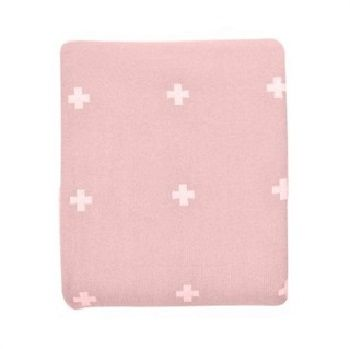 Jamie Kay Cross Blanket Blush Pink $99.00 - $199.00 #sweetcreations #baby #toddlers #kids #bedding
