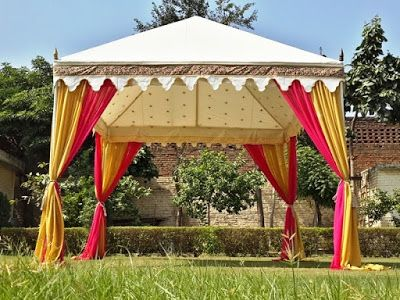 Designer Indian Tents by Sangeeta International www.indiantents.com