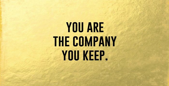 You are the Company You Keep - Intralinks DealcloserBlog
