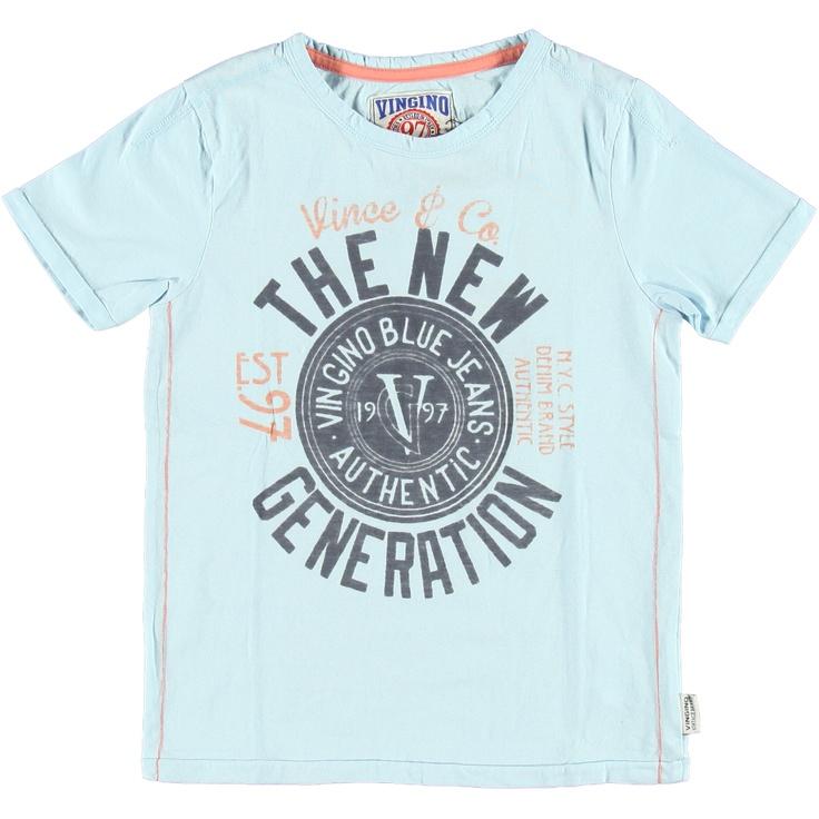 T-Shirt Jaquar Aqua | Vingino | Daan en Lotje https://daanenlotje.com/kids/jongens/vingino-t-shirt-jaquar-aqua-001185
