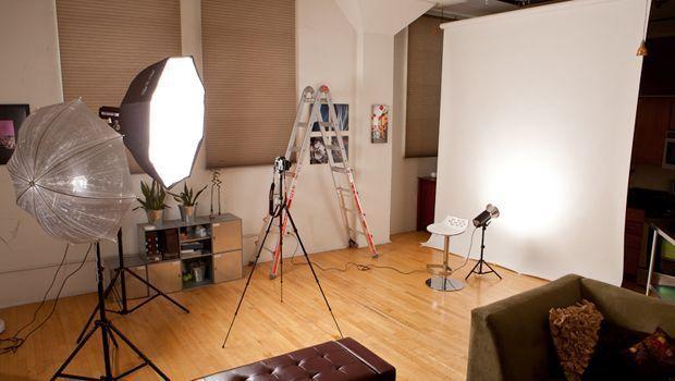 How to Set Up a Photo Studio | Home studio photography ...