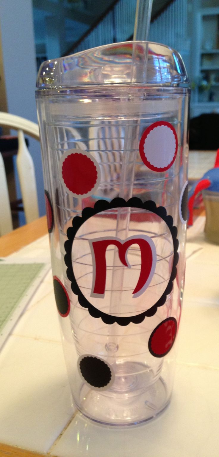 Best Water Cups Images On Pinterest Personalized Cups - Best vinyl for cups
