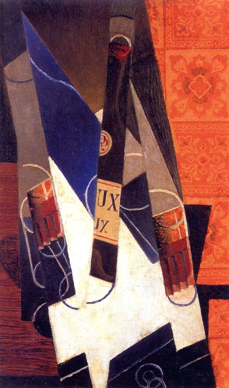 The Athenaeum - The Bottle of Bordeaux (Juan Gris - )