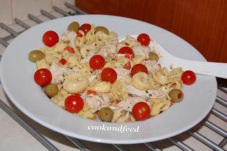 COOKANDFEED : Τορτελίνια σαλάτα